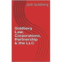 Goldberg Law, Corporations, Partnership & the LLC