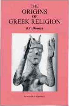 Book Origins Of Greek Religion (Bristol Phoenix Press Ignibuss)