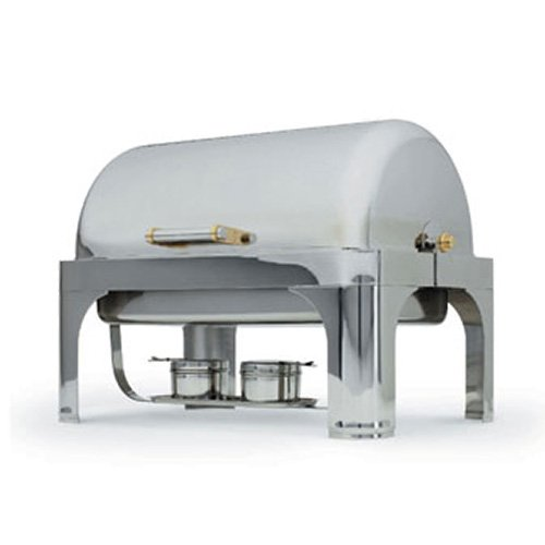 Vollrath 46084 Roll Top Vented Dome Cover Only For New York New York Oblong 46080 Chafer (Top Chafer Oblong Roll)