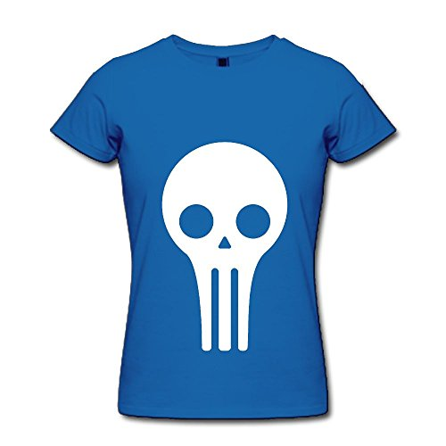 Alien Skull Adult Standard Weight Funny T-shirt For Women/Girls (Parks And Recreation April Costume)