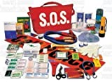 Deluxe Vehicle/Car-Truck-RV-S.O.S-Roadside Assistance-Emergency Survival First Aid Kit -Canadian Winter Ready-Battery Jumper Cables Included