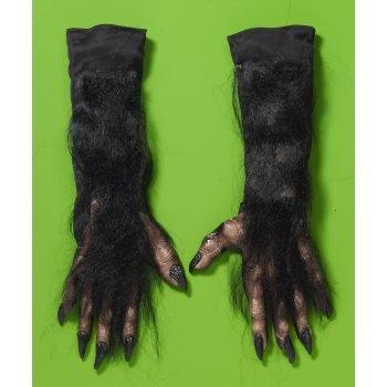 [X-Long Werewolf Gloves Costume Accessory] (Werewolf Accessories)