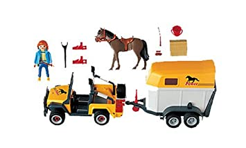 Buy Playmobil 3249 Equine Transporter Online At Low Prices In India Amazon In