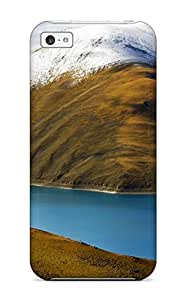 Anti-scratch And Shatterproof Yamdrok Lake Tibet Phone Case For Iphone 5c/ High Quality Tpu Case