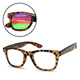 6be48f96f7 Classic Retro MultiFocus Readers - 3 Powers in 1 Trifocal Reading Glasses  (Tortoise Frame
