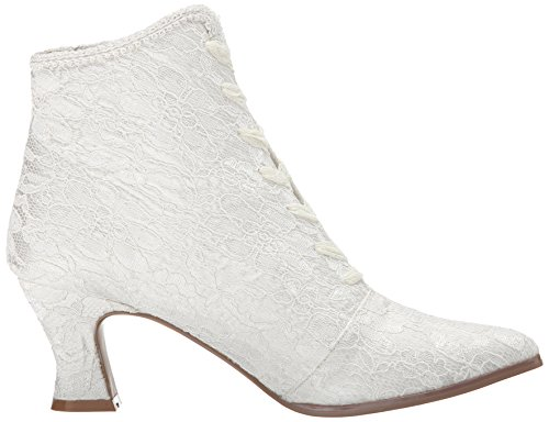 Boot IVSA Women's Satin VIC30 Fabulicious Ivory Lace qwvT8tPx