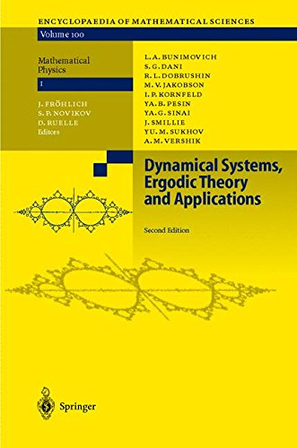 Dynamical Systems, Ergodic Theory and Applications (Encyclopaedia of Mathematical Sciences)