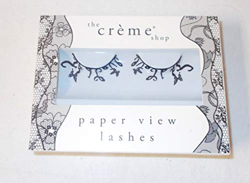 Creme Shop Paper View Lashes Butterflies in Flight Costume Accessory Adult NIP (Paper Creme)