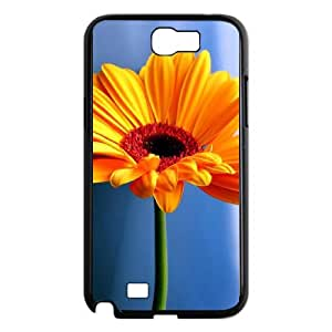 Custom Phone Case with Flower Wallpaper Image On The Back Fit To Samsung Galaxy Note 2