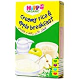 HiPP Creamy Rice and Apple Breakfast - 160 g, 4062300119895