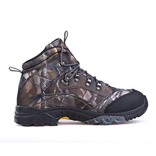 Treasu-LQ Chaussures de randonnée et de Trekking Montantes en Plein air Unisexes Chaussures de Chasse imperméables… 3