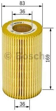 Bosch 1457429278 /Ölfilter