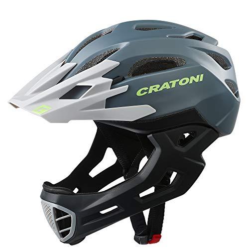 Cratoni C- Maniac fietshelm heren, grijs/zwart