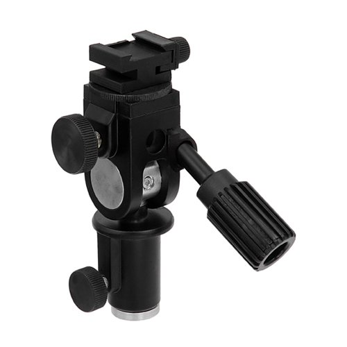 Fotodiox Ultra Heavy Duty Flash Umbrella Bracket - With Swivel/Tilt Head, Mountable to Light stand and Tripod - fits Nissin Flash Di866, Di622, Di466, PZ400 (Tilt Umbrella Head)