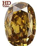 Natural Loose Diamond Oval Fancy Color VVS1 Clarity 4.50MM 0.31 Ct KR489