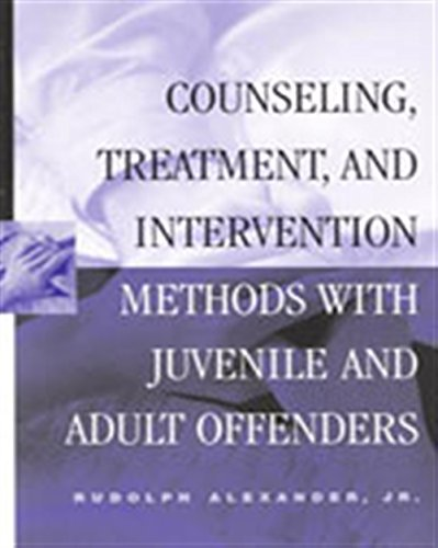 Counseling, Treatment, and Intervention Methods with...