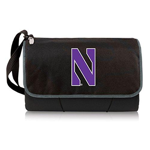 NCAA Northwestern Wildcats Outdoor Picnic Blanket Tote