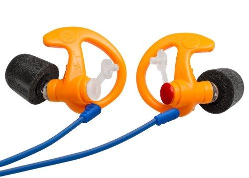 SureFire EP7 Sonic Defenders Ultra Filtered Foam-Tipped Earplugs (Bulk Box of 25 Units), Orange, Small by SureFire
