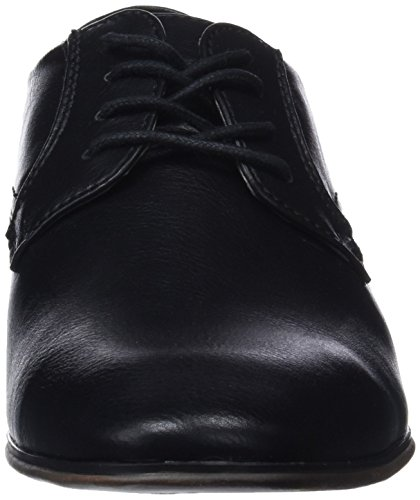 00001 Noir Derbys Tom 485100630 Homme Tailor Black RExw6IYw