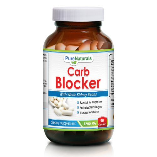 Pur Naturals Carb Blocker, 1200 mg, 90 capsules