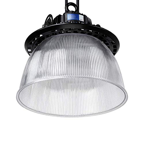 LEONLITE LED UFO High Bay Light, 21,450lm Ultra Bright, 150W (600W MHL/HID Equiv.), ETL & DLC Listed, Commercial/Industrial Lighting, 5 Years Warranty (Warehouse Lighting)