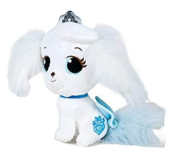 Disney - Peluche Mascotas Palace Pets - Pumpkin 15 cm (perro blanco)