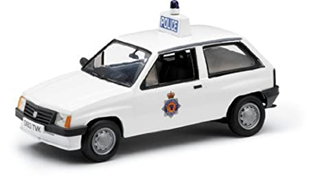CORGI 1/43 Vauxhall Nova Northumbria Police Car White (japan import)