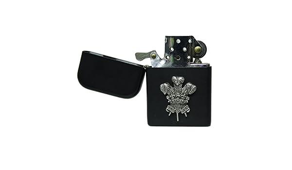 Awesome Gifts Mate Negro El galés Plumas Encendedor de ...
