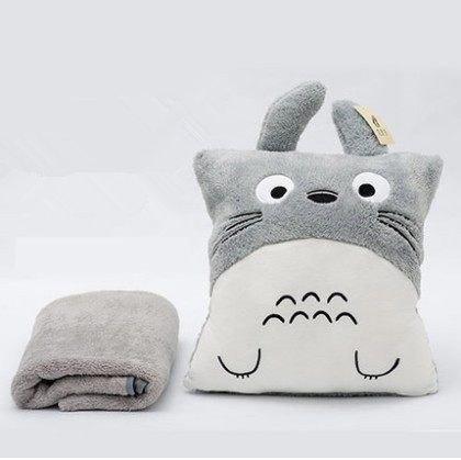 Mi Vecino Totoro suave almohada, cojín de algodón, manta ...