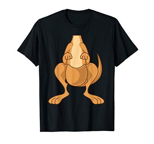 Funny Kangaroo Costume Shirt - Funny Halloween Easy DIY Gift -