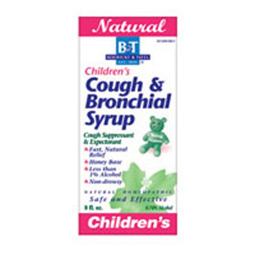 Boericke and Tafel Childrens Cough and Bronchial Syrup, 8 Ounce - 3 per case.
