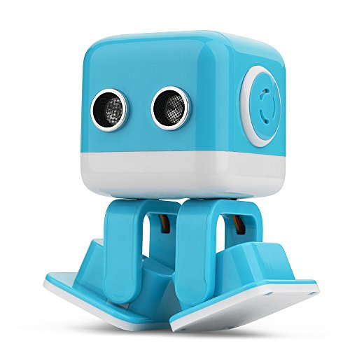 Goolsky WLtoys WL Tech Cubee F9 ロボット 教育スマート 歌 ダンス 物語 英語 障害回避 LED 歩くおもちゃ APP RCアミューズメント クリスマス 誕生日 プレゼント ギフト 子供