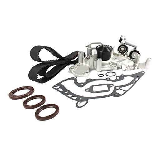 (DNJ TBK970WP Timing Belt Kit with Water Pump for 1990-1997 / Lexus / LS400, SC400 / 4.0L / DOHC / V8 / 32V / 3967cc, 3969cc / 1UZFE)