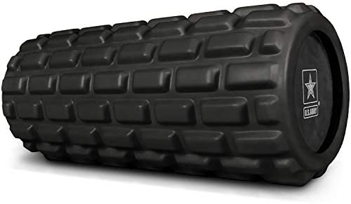 U.S. Army Foam Roller – Deep Tissue Massage Roller for Trigger Point Release on Muscles – Choose from 3 Greens or Black