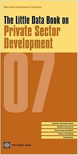 little data book 2007 world bank