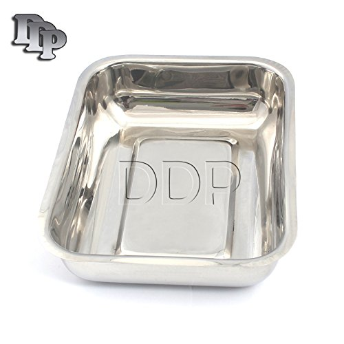 DDP INSTRUMENT TRAY WITHOUT COVER, 8-7/8'' X 5'' X 2'' by DDP (Image #1)