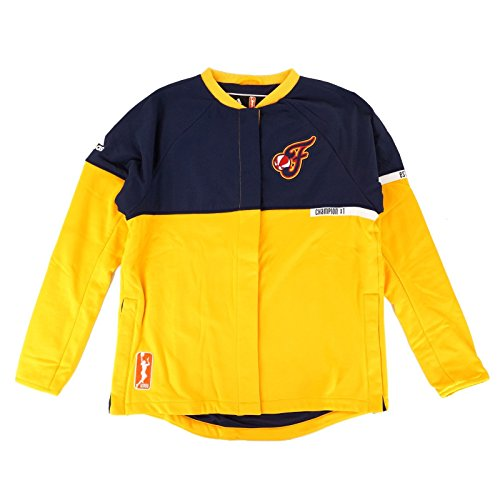 adidas Indiana Fever WNBA Authentic On-Court Team Issued Warm Up Jacket Women