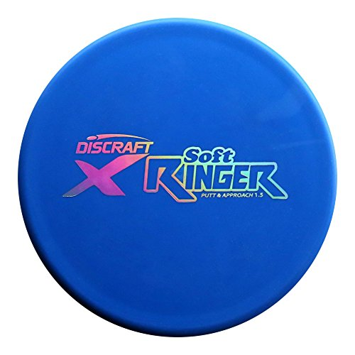Discraft X Line Soft Ringer Golf Disc (173 - 174), color may vary. (International Ringer)