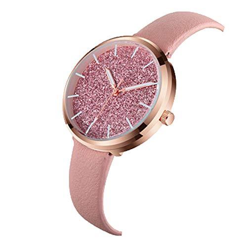 FANRENYOU Lady Analog Women Dress Watch Fashion Casual Girl Quartz Watch Women Wristwatches Pink