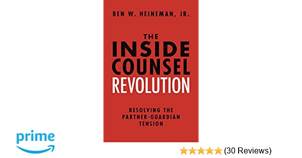 Amazon com: The Inside Counsel Revolution: Resolving the