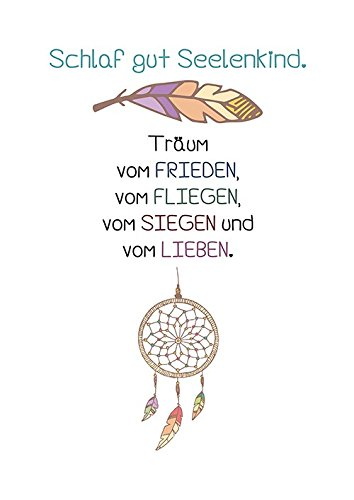 Amazonde Artissimo Poster Mit Spruch Din A4 Pe0062 Dr