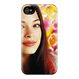 GiJqade7247MhZzR Tpu Phone Case With Fashionable Look For Iphone 4/4s - Kristin Kreuk Canadian Tv Actress