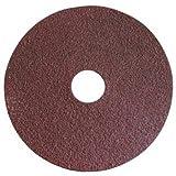 Resin Fiber Disc, Aluminum Oxide, 4 1/2 in Dia, 60 Grit
