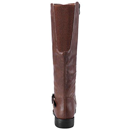 Classic AIYOUMEI Women's Classic Brown AIYOUMEI Boot Boot Women's xXF4wzqU