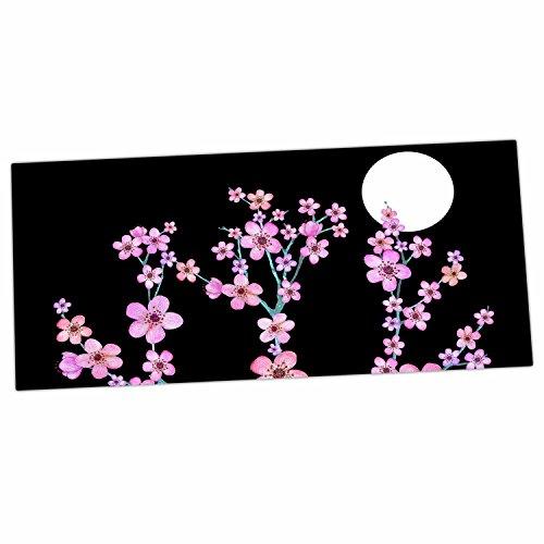 "KESS InHouse Julia Grifol ""Cherry Blossom At Night"" Pink ..."