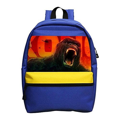 King-Kong Ape Skull Island Schoolbag girl boy backpack, designed for children fashion backpack.1