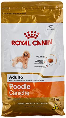 Ração Royal Canin Poodle Caniche, Cães Adultos, para Todas Todos os tamanhos de raça Adulto - Sabor Outro, 1kg