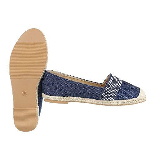 Ital Blau Low top Donna design Czrwq6C8f
