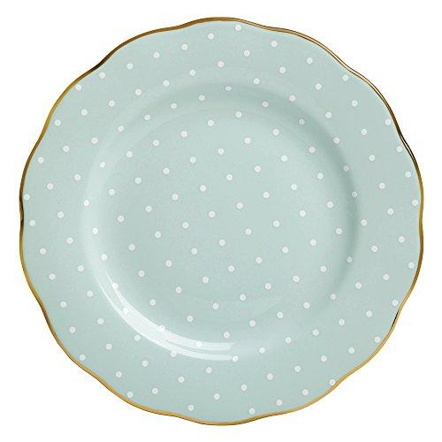 Royal Albert 8701025811 Polka Rose Formal Vintage Salad Plate