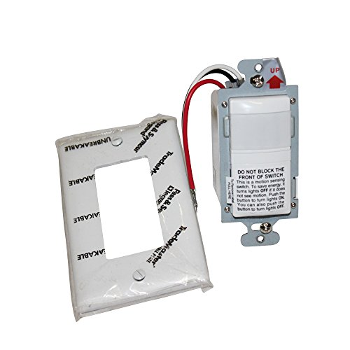 Wattstopper RS-150-BA Passive Infrared Wall Switch Occupancy Vacancy Sensor, -